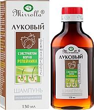 Perfumería y cosmética Champú con extracto de raíz de bardana - Mirrolla