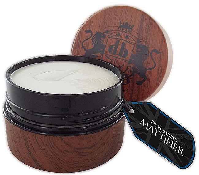 Cera de fijación matificante - Dear Barber Mattifier Hair Paste