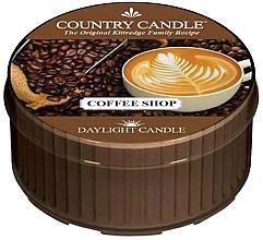 Perfumería y cosmética Vela de té con aroma a café - Country Candle Coffe Shop Daylight