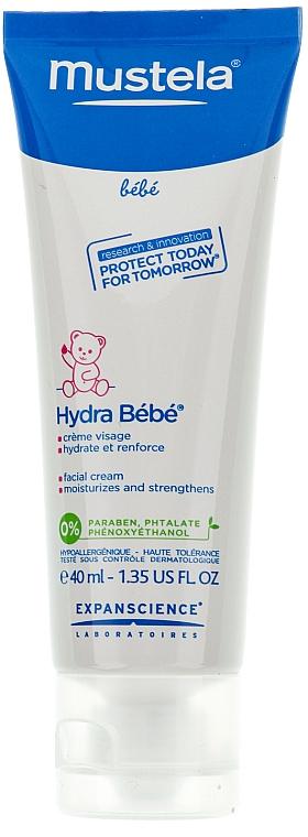 Crema facial hipoalergénica natural con manteca de karité, aceite de almendras dulces & jojoba - Mustela Hydra Bebe Visage — imagen N4