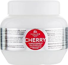 Perfumería y cosmética Mascarilla capilar con aceite de semilla de cereza - Kallos Cosmetics Hair Cherry Mask