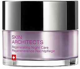 Perfumería y cosmética Crema de noche regeneradora con karité y aceite de buglosa - Artemis of Switzerland Skin Architects Regenerating Night Care