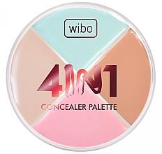 Perfumería y cosmética Paleta de correctores faciales - Wibo 4in1 Concealer Palette