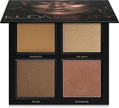 Perfumería y cosmética Paleta de iluminadores - Huda Beauty 3D Highlighter Palette