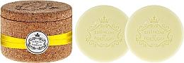 Perfumería y cosmética Jabón natural artesanal con aroma a limón, con caja de corcho - Essencias De Portugal Tradition Jewel-Keeper Lemon