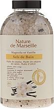 Perfumería y cosmética Sales de baño con aroma a magnolia y vainilla - Nature de Marseille