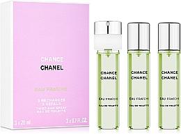 Chanel Chance Eau Fraiche - Set de racarga (eau de toilette/3x20ml) — imagen N1
