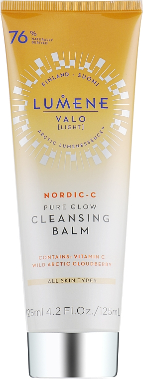 Bálsamo de limpieza facial con vitamina C - Lumene Valo Cleansing Balm