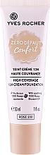 Perfumería y cosmética Base de maquillaje cremosa de alta cobertura, vegana - Yves Rocher Zero Defaut Comfort 12h Cream Foundation