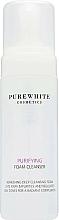 Perfumería y cosmética Espuma facial limpiadora con agua de romero y aceite de bergamota - Pure White Cosmetics Purifying Foam Cleanser