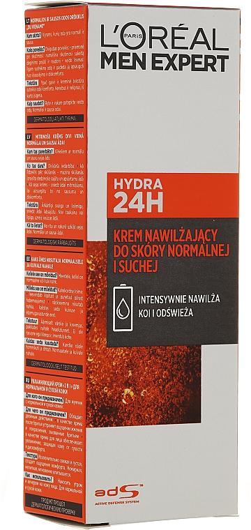 Crema aftershave hidratante con manteca de karité y extracto de menta - L'Oreal Paris Men Expert