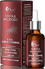 Perfumería y cosmética Elixir facial seborregulador con niaciamida & aceite de ábrol de té - Ava Laboratorium S.O.S Sebum Control