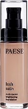 Perfumería y cosmética Base de maquillaje multivitamínica con extracto de frutas & D-pantenol - Paese Lush Satin