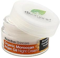Perfumería y cosmética Crema para rostro y cuerpo con aceite de argán de Marruecos - Dr. Organic Bioactive Skincare Organic Moroccan Argan Oil Night Cream