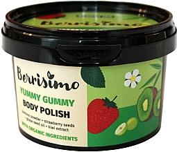 Perfumería y cosmética Exfoliante corporal con semillas de fresa y aceite de uva - Berrisimo Yummy Gummy Body Polish