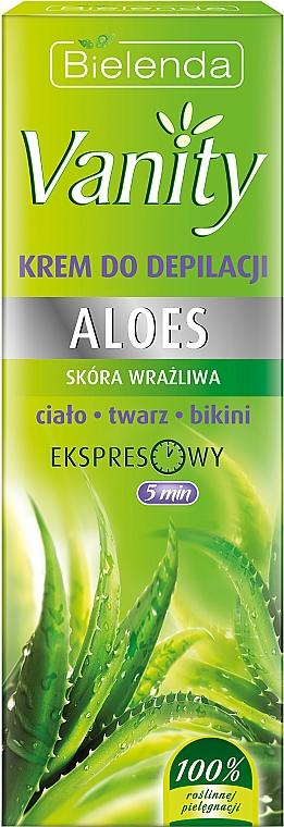Crema depilatoria con aloe - Bielenda Vanity