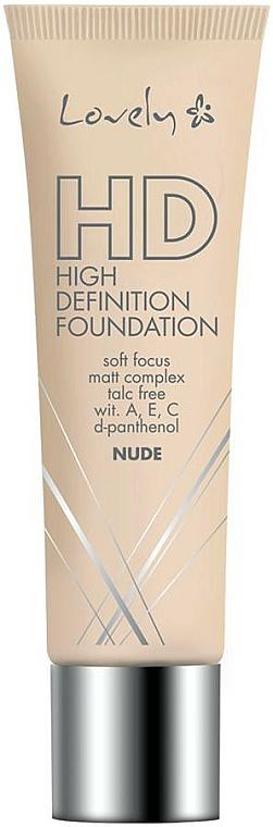 Base de maquillaje con vitamina A, E y C - Lovely HD Fluid