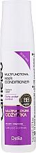Perfumería y cosmética Acondicionador multifuncional con queratina para cabello rizado - Delia Cameleo Liquid Keratin Curly Hair