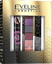 Perfumería y cosmética Set (máscara/10ml+ paleta sombras de ojos/9.6g) - Eveline Cosmetics