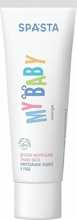 Pasta dental natural para niños - Spasta My Baby Toothpaste