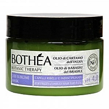 Perfumería y cosmética Mascarilla capilar con mantenca antiencrespamiento - Bothea Botanic Therapy Liss Sublime Mask pH 4.0