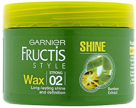 Cera para cabello con extracto de bambú, fijación fuerte - Garnier Fructis Style Shine Wax — imagen N1