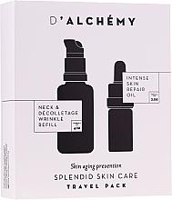 Perfumería y cosmética Set facial (aceite/5ml + fluido/20ml) - D'Alchemy Travel Pack