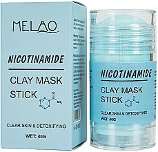 Perfumería y cosmética Mascarilla stick facial detox con arcilla y ceramidas - Melao Nicotinamide Clay Mask Stick