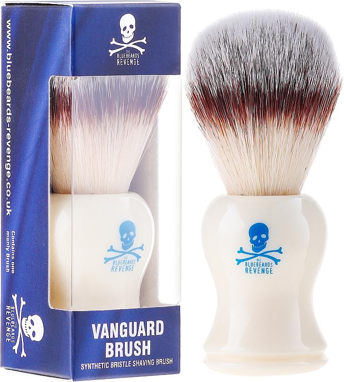 Brocha de afeitar con cerdas sintéticas - The Bluebeards Revenge The Ultimate Vanguard Brush — imagen N1