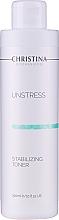 Perfumería y cosmética Tónico facial equilibrante con brócoli y pepino - Christina Unstress Stabilizing Toner