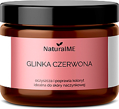 Perfumería y cosmética Arcilla roja natural - NaturalME