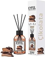 Perfumería y cosmética Ambientador Mikado con aroma a chocolate - Eyfel Perfume Reed Diffuser Chocolate