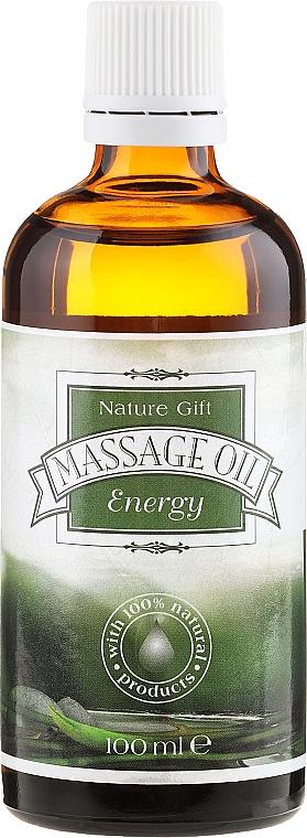 Aceite de masaje, Energía - Bulgarian Rose Nature Gift Energy Massage Oil — imagen N1