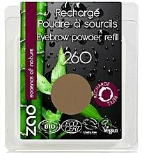Perfumería y cosmética Polvo de cejas - Zao Eyebrow Powder (recarga)