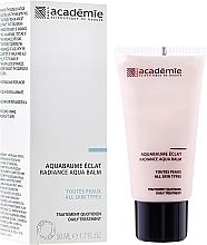 Perfumería y cosmética Hidrobálsamo facial iluminador antipolución con extracto de albaricoque - Academie Radiance Aqua Balm