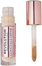 Perfumería y cosmética Corrector de maquillaje líquido - Makeup Revolution Conceal and Define Concealer
