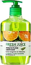 Perfumería y cosmética Jabón líquido con aroma a mandarina verde y palmarosa - Fresh Juice Green Tangerine & Palmarosa