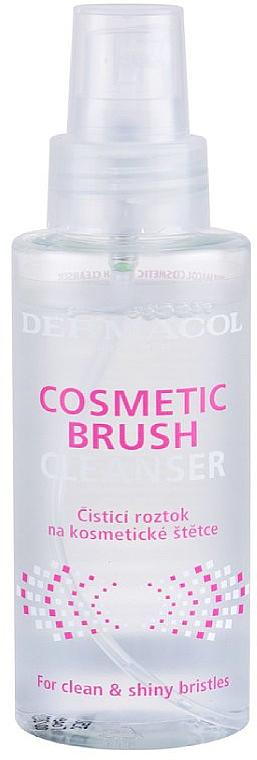 Spray limpiador de brochas de maquillaje - Dermacol Brushes Cosmetic Brush Cleanser