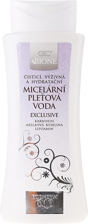 Agua micelar con coenzima Q10 - Bione Cosmetics Exclusive Organic Micellar Water With Q10 — imagen N1