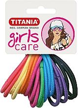 Perfumería y cosmética Gomas de pelo, 20uds., muticolores - Titania Girls Care