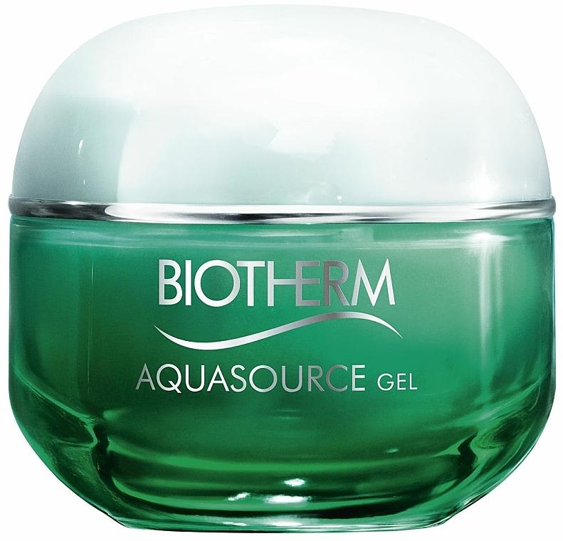 Gel facial regenerador con Aura Leaf medicinal - Biotherm Aquasource Gel — imagen N1