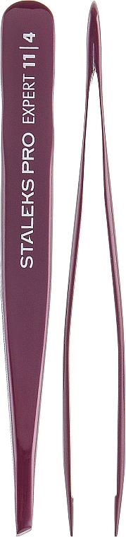 Pinza profesional para cejas, TE-11/4 - Staleks Pro