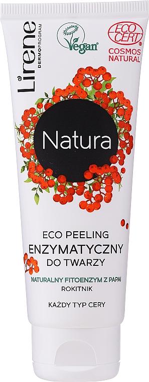 Peeling facial enzimático eco con extracto de espino amarillo - Lirene Natura Eco Peeling