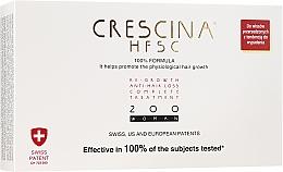 Perfumería y cosmética Tratamiento en ampollas estimulador del crecimiento de cabello 200 - Crescina Re-Growth HFSC Formula 100%