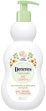 Perfumería y cosmética Gel de ducha y champú hipoalergénico para bebés con extracto de caléndula y almendras - Denenes Naturals Gel & Shampoo