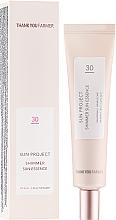 Perfumería y cosmética Protector solar iluminador - Thank You Farmer Sun Project Shimmer Sun Essence Spf 30
