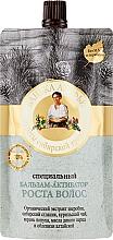 Perfumería y cosmética Acondicionador natural para el crecimiento del cabello con extracto de hierba de San Juan y raíz de bardana - Las recetas de la abuela Agafia