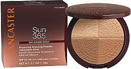 Perfumería y cosmética Polvos compactos bronceadores - Lancaster 365 Sun Protecting Bronzing Face Powder SPF10 Adjustable Glow