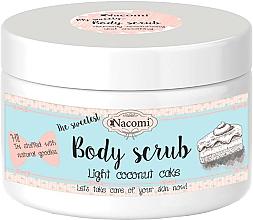 Perfumería y cosmética Exfoliante corporal natural de azúcar con aceites de coco y almendra dulce, vegano - Nacomi Body Scrub