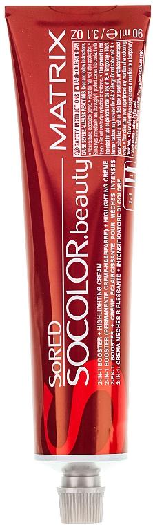 Tinte permanente para cabello - Matrix SoRED  — imagen N2